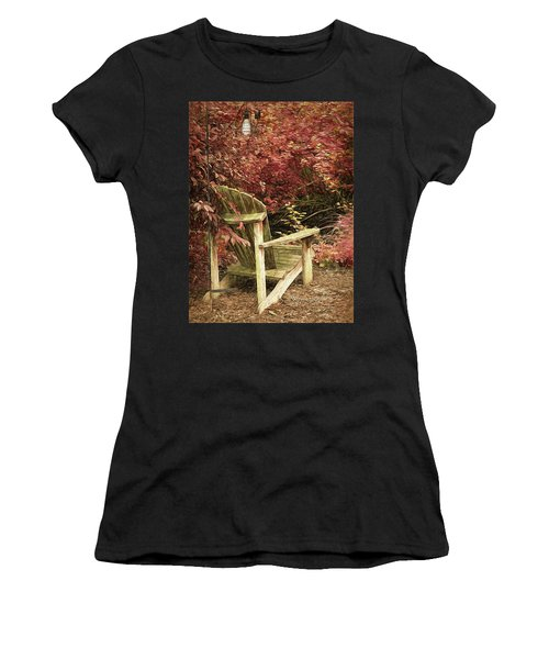 Reading Nook Women's T-Shirt (Athletic Fit)