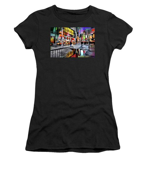 Women's T-Shirt (Junior Cut) featuring the photograph Ready Or Not by Diana Angstadt
