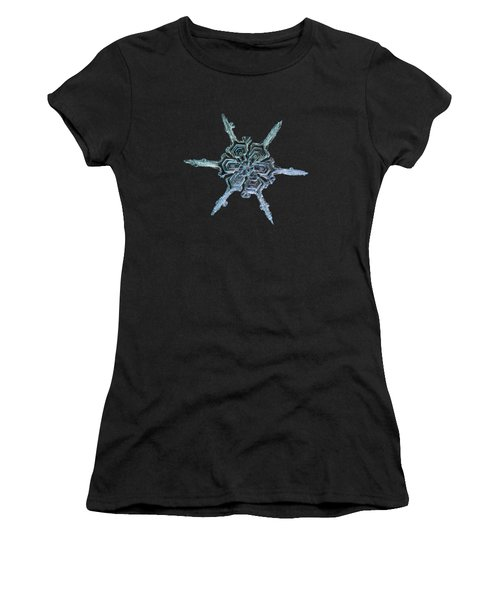 Real Snowflake Photo - The Shard Women's T-Shirt