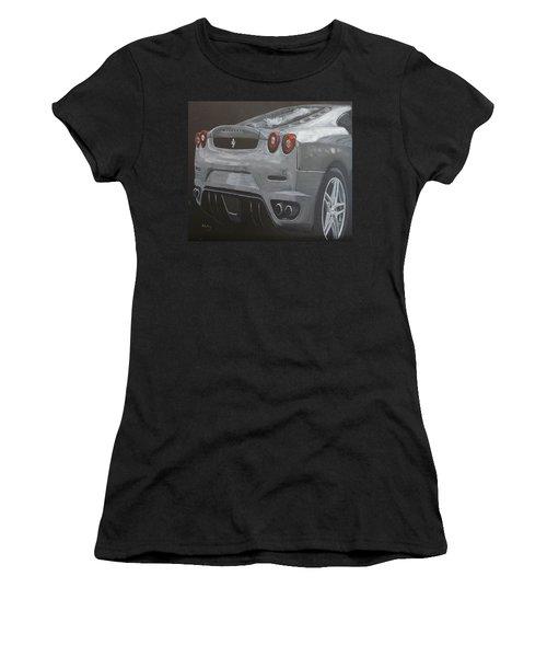 Rear Ferrari F430 Women's T-Shirt