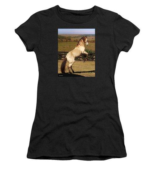 Wild At Heart Women's T-Shirt (Junior Cut) by Barbie Batson