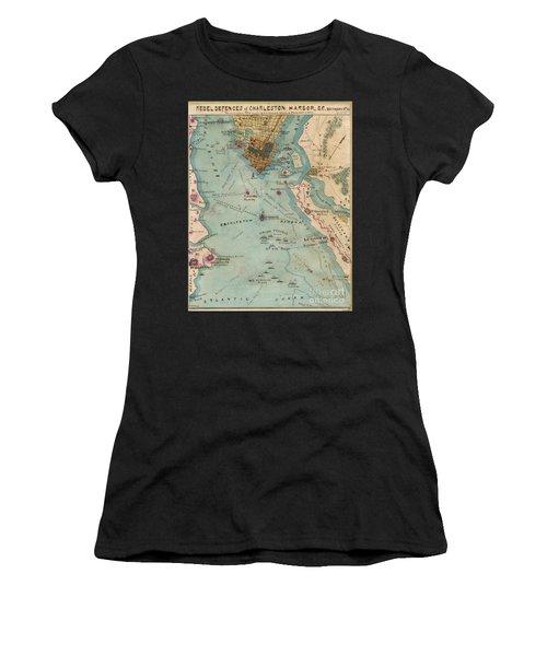 Rebel Defenses Of Charleston Harbor Women's T-Shirt