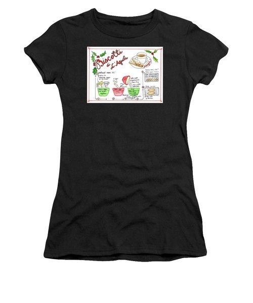 Recipe Biscotti Women's T-Shirt