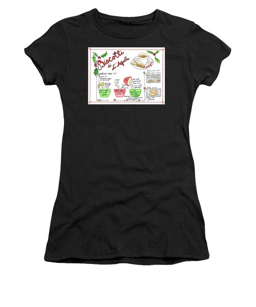 Recipe Biscotti Women's T-Shirt
