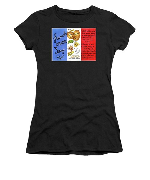 Recipe French Onion Soup Women's T-Shirt (Athletic Fit)