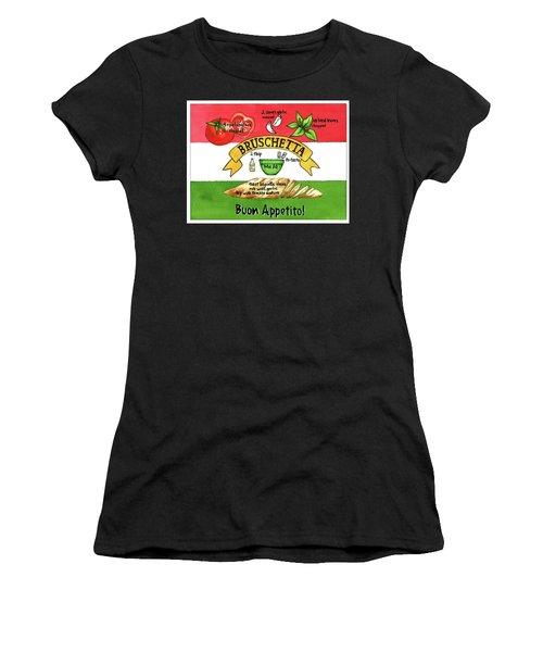 Recpe-bruschetta Women's T-Shirt
