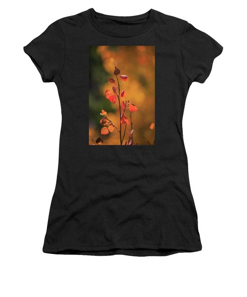 Red And Gold Women's T-Shirt