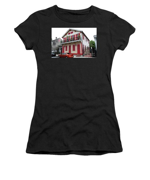 Red And Tan House Women's T-Shirt