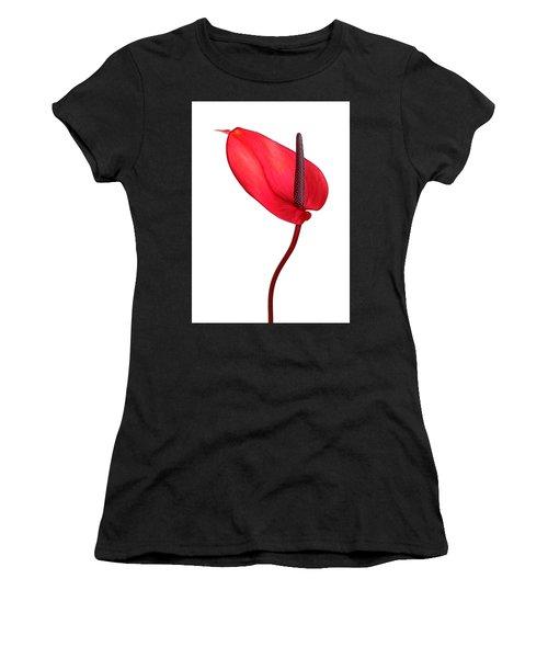 Red Anthrium Women's T-Shirt