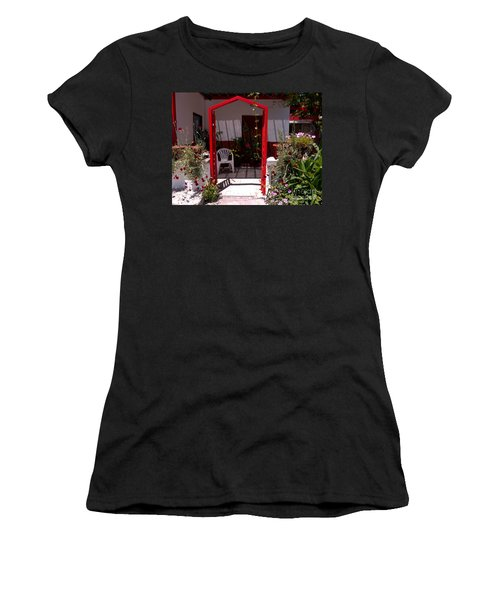Red Arch On Lesvos Women's T-Shirt
