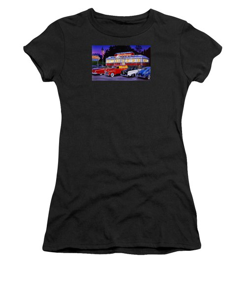 Red Arrow Diner Women's T-Shirt (Athletic Fit)