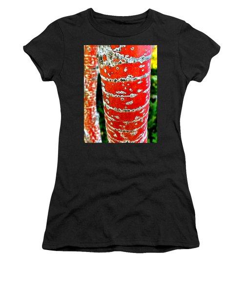 Red Bark Birch Women's T-Shirt
