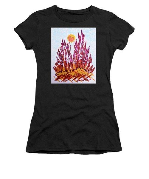 Red Beauties In The Garden Women's T-Shirt