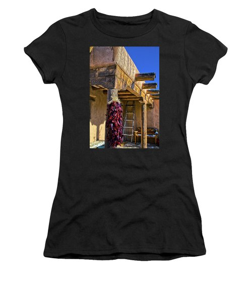 Red Chillies At New Years Women's T-Shirt
