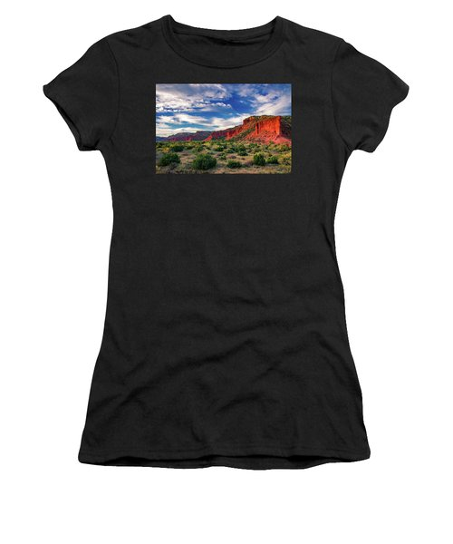Red Cliffs Of Caprock Canyon 2 Women's T-Shirt