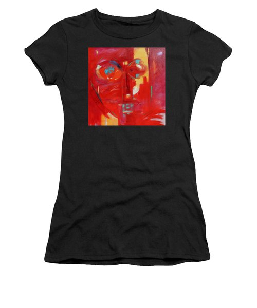 Red Face Women's T-Shirt