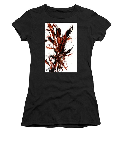 Red Flame 66.121410 Women's T-Shirt (Junior Cut) by Kris Haas
