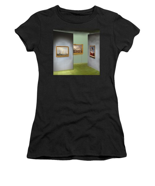 Red Gallery Women's T-Shirt (Athletic Fit)