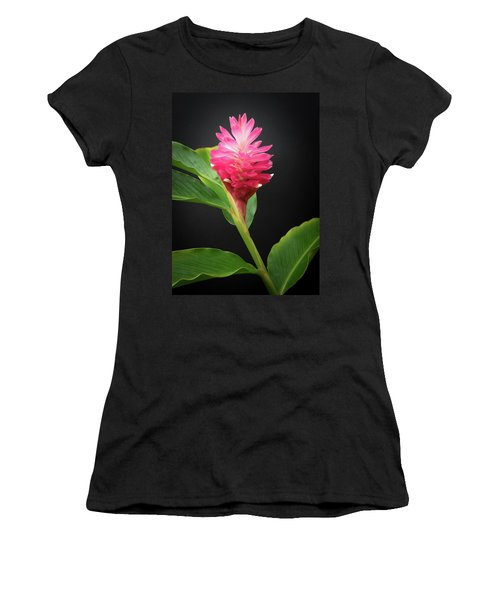 Women's T-Shirt (Athletic Fit) featuring the photograph Red Ginger by Denise Bird