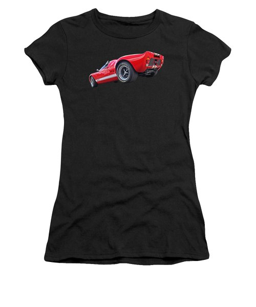 Red Hot Ford Gt 40 Women's T-Shirt