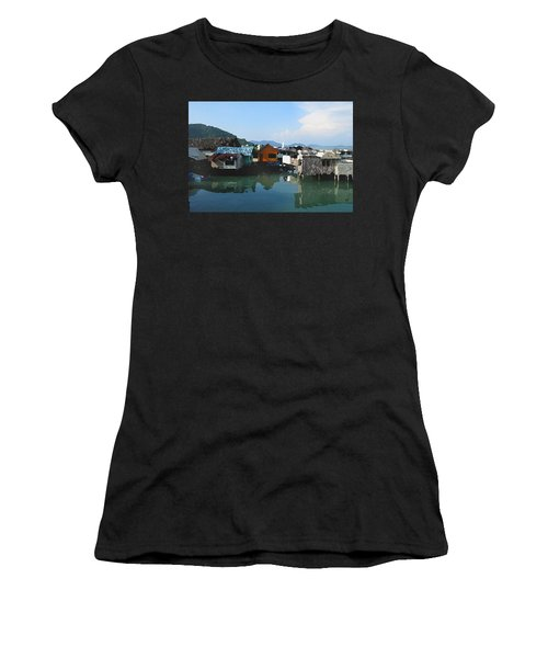 Red House On The Water Women's T-Shirt