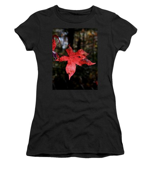 Red Leaf Women's T-Shirt