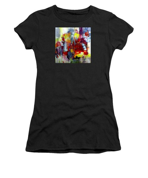 Red Light Women's T-Shirt (Athletic Fit)