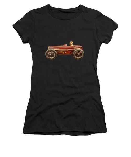 Red Racer Left Women's T-Shirt