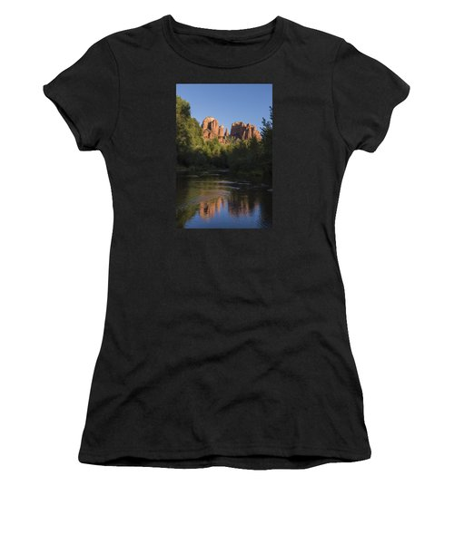 Red Rock Reflections Women's T-Shirt (Athletic Fit)
