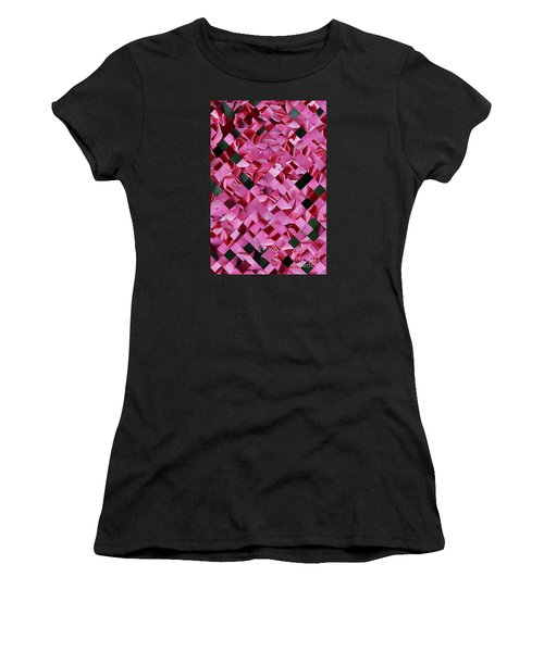 Red Rose Collage Women's T-Shirt