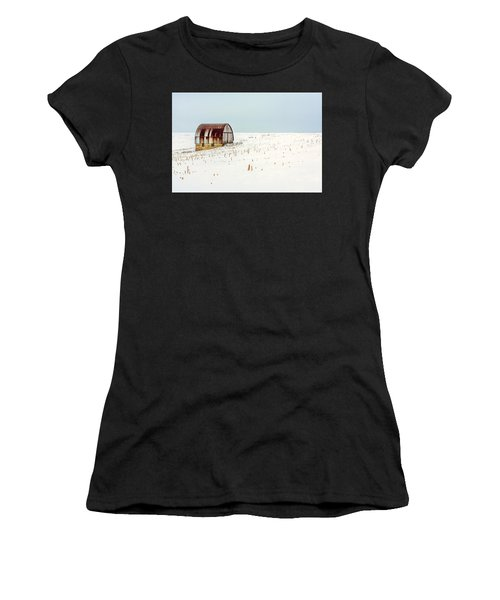 Red, Rusty Roof Women's T-Shirt