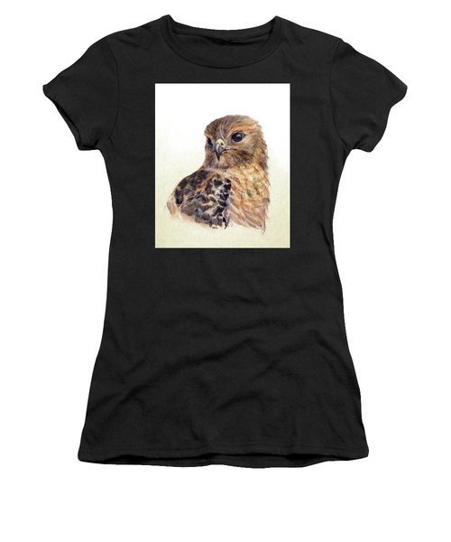 Red-shouldered Hawk Women's T-Shirt