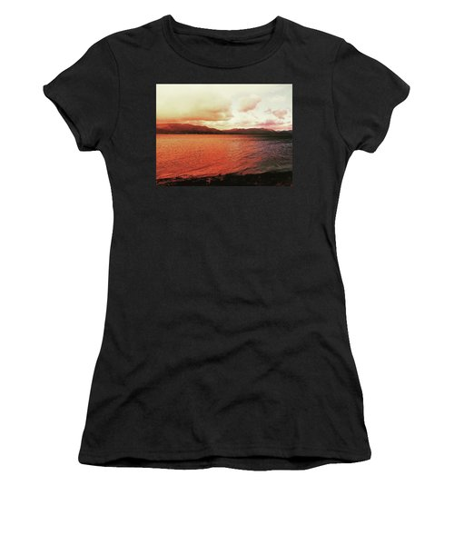 Red Sky After Storms  Women's T-Shirt