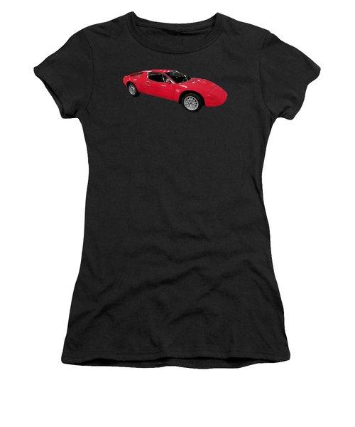 Red Sport Car Art Women's T-Shirt