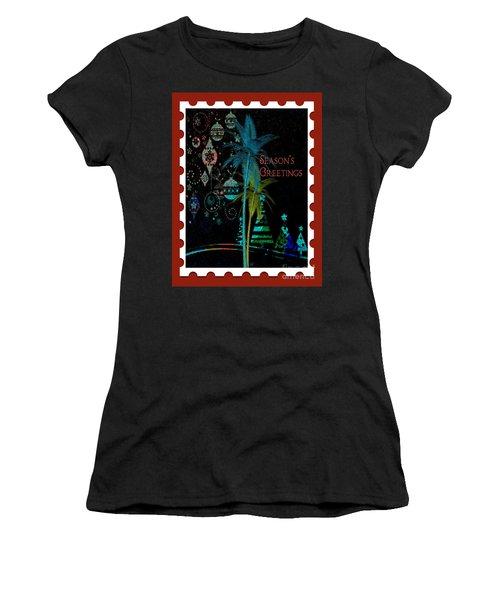 Red Stamp Women's T-Shirt
