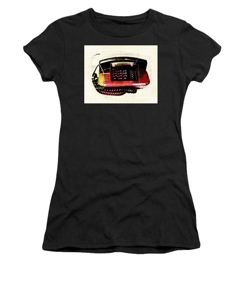Hot Red Phone Women's T-Shirt (Athletic Fit)
