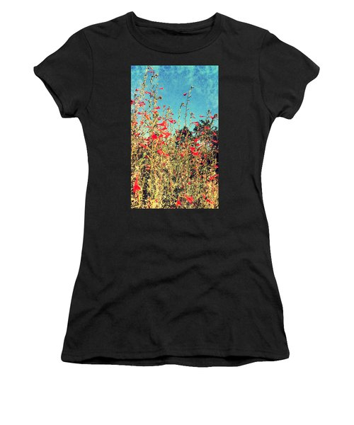 Red Trumpets Playing Women's T-Shirt