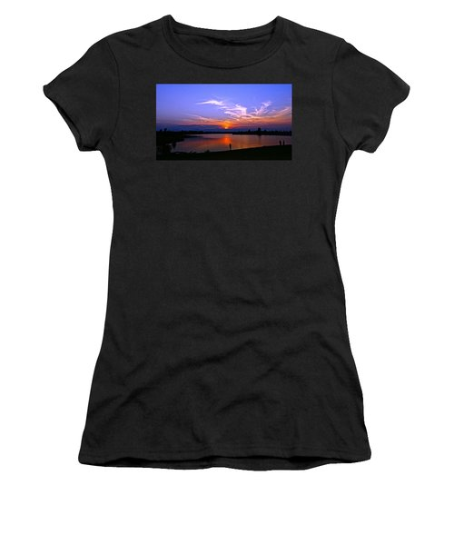 Red, White And Blue Women's T-Shirt