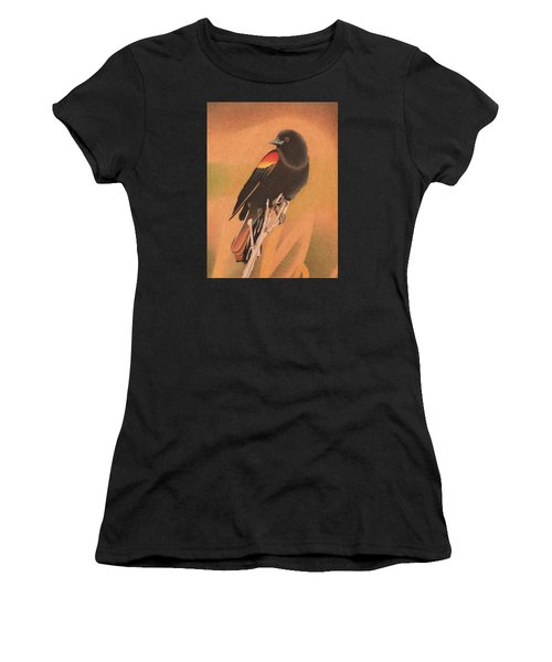 Red-winged Blackbird 3 Women's T-Shirt