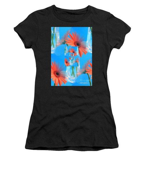 Redundant Gerbera Daisy Women's T-Shirt