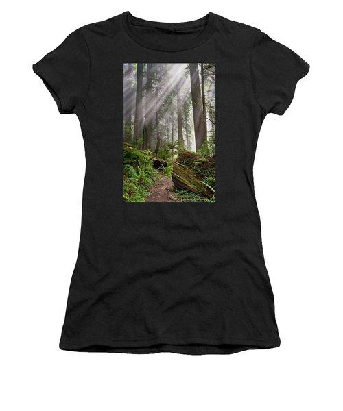 Redwood Light Women's T-Shirt (Athletic Fit)