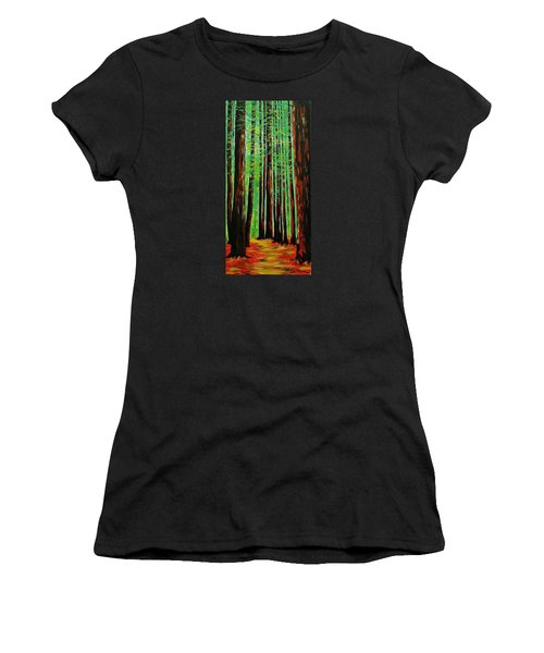 Redwoods Majestic 2 Women's T-Shirt (Athletic Fit)