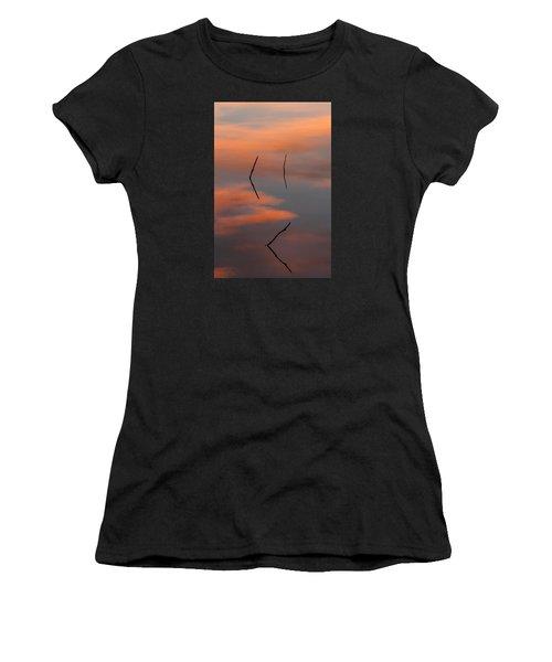 Reflected Sunrise Women's T-Shirt (Athletic Fit)