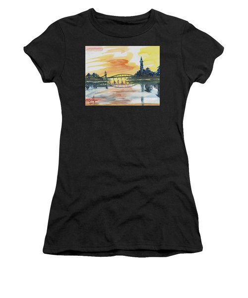 Reflecting Bridge Women's T-Shirt