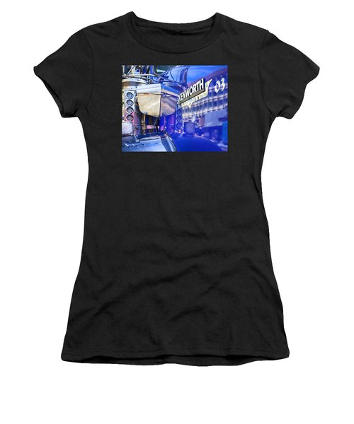 Reflecting On A Kenworth Women's T-Shirt (Athletic Fit)