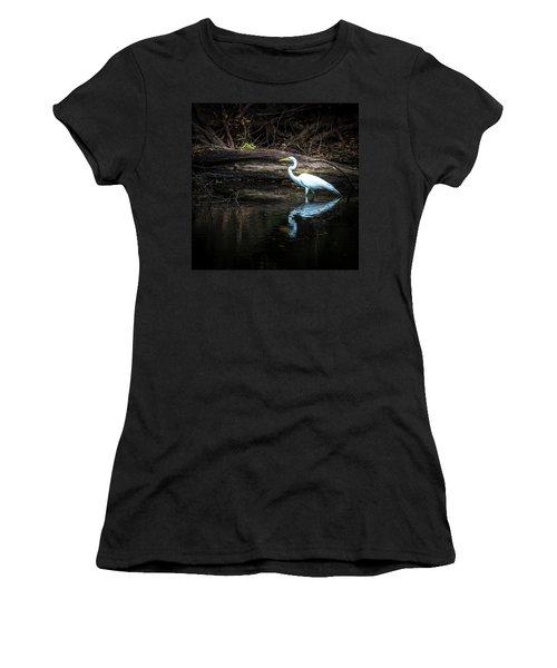 Reflecting White Women's T-Shirt