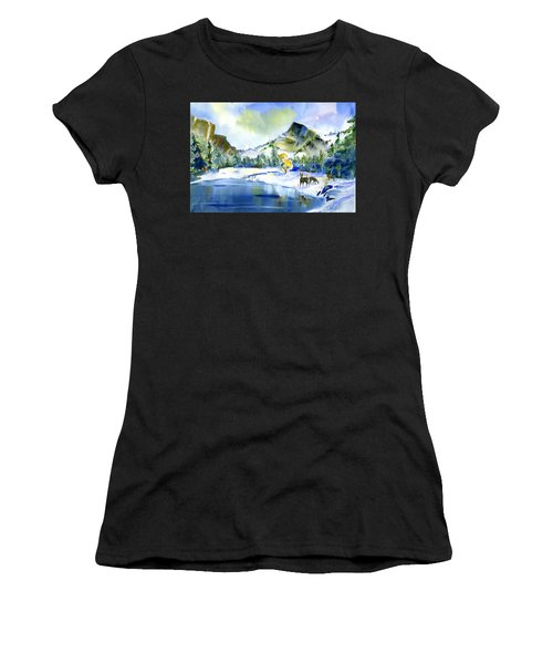 Reflecting Yosemite Women's T-Shirt