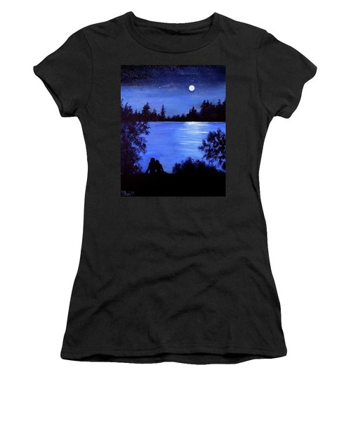 Reflection By The Water Women's T-Shirt