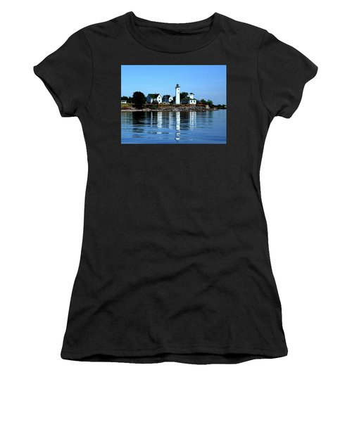 Reflections At Tibbetts Point Lighthouse Women's T-Shirt