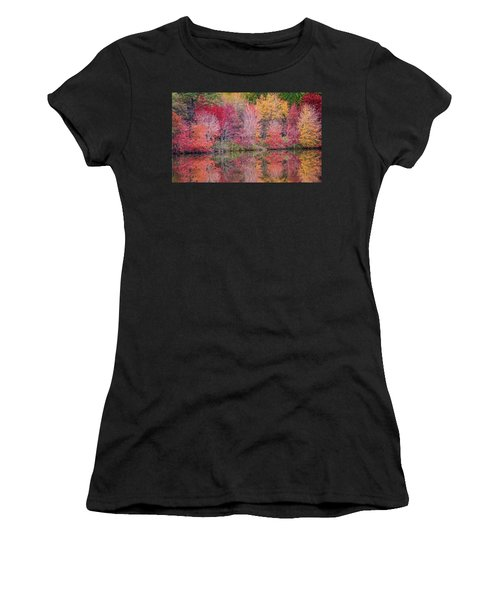 Women's T-Shirt featuring the photograph Reflections by David Waldrop